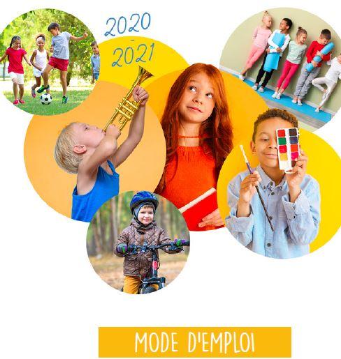 Mode emploi inscriptions périscolaires 2020-2021